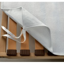 COPRI RETE doghe con ganci letto singolo una piazza salva protegge il materasso