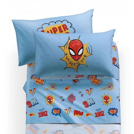 Caleffi Completo Lenzuola Letto 1 Piazza E Mezza Disney Spiderman Hero