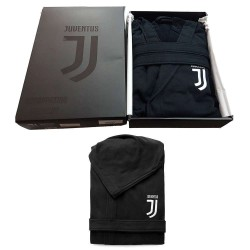 Juventus Accappatoio Nero Uomo Official Premium