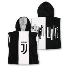 Poncho Juventus FC - Telo Spugna mare - Accappatoio - Taglia Unica 50x50 - Novia