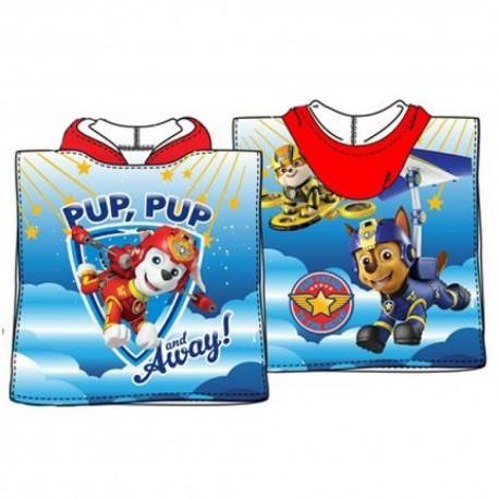 PAW PATROL Poncho Spiaggia 110 x 55 cm Asciugamano Tempo Libero e Sport Taglia Unica Disney