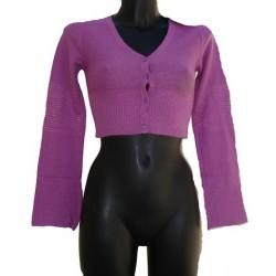 Abbigliamento Maglione bottoni coprispalla scaldacuore Guru Lana Angora Cachemire